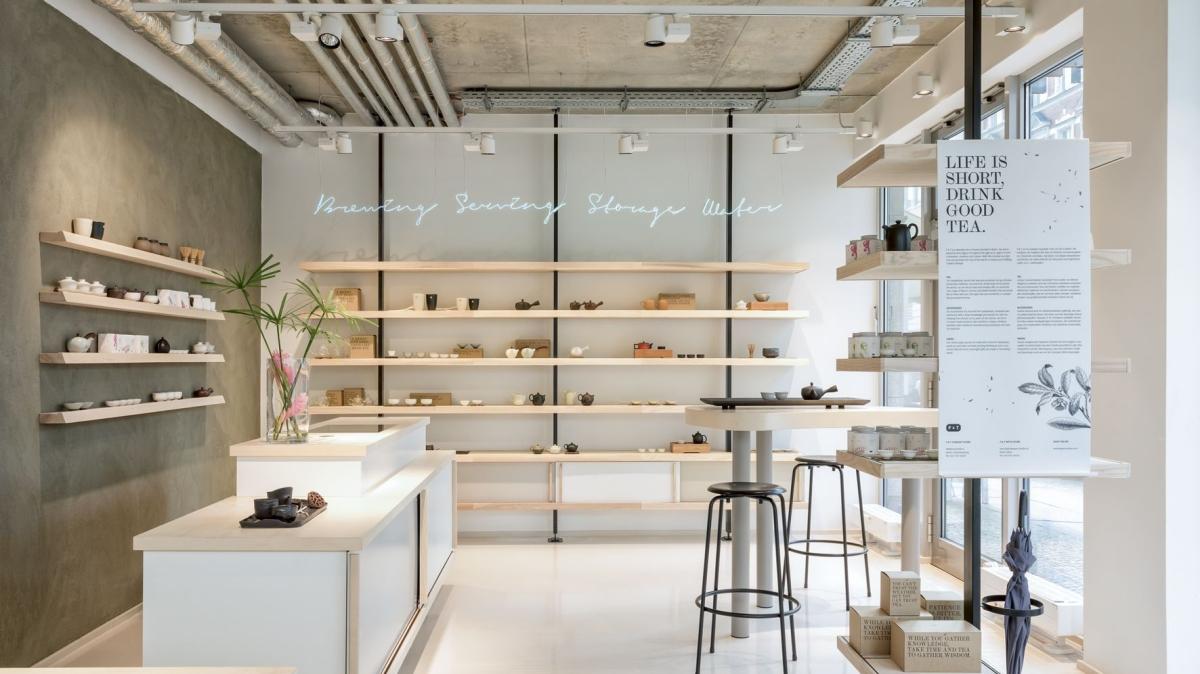 亂入一間超美茶店Paper & Tea,發現這群柏林人不酗咖啡只酗茶